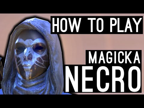 Magicka Necromancer How to Play Beginners Guide - Elsweyr ESO
