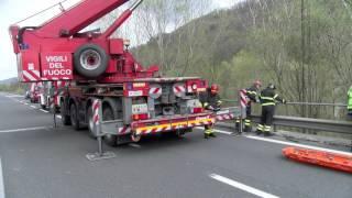 CESENA: Camionista precipita dal viadotto e muore |VIDEO