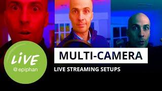 Multi-camera live streaming setups in 2020