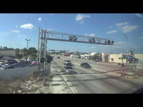 Tri-Rail Full Ride! Miami To Mangonia Park