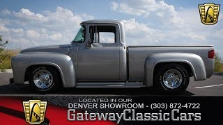 1956 Ford F100 Now Featured In Our Denver Showroom #132-DEN thumbnail