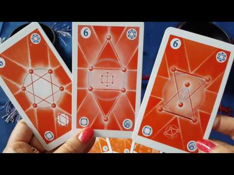 Numerology Oracle Unboxing (part 1)