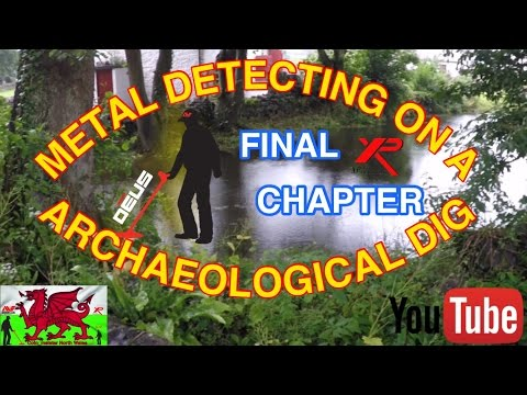 Metal Detecting on a Archaeological Dig Final Chapter