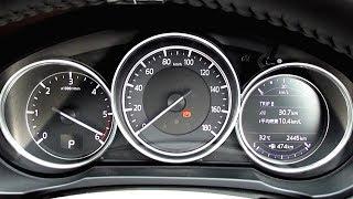 新型CX-5 (ディーゼル車) 0~175km フル加速 +エンジン始動