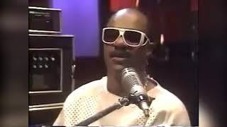 RICK JAMES IN STUDIO RECORDING STANDING ON THE TOP' WITH THE TEMPTATIONS - NARRATED BY STEVIE WONDER
