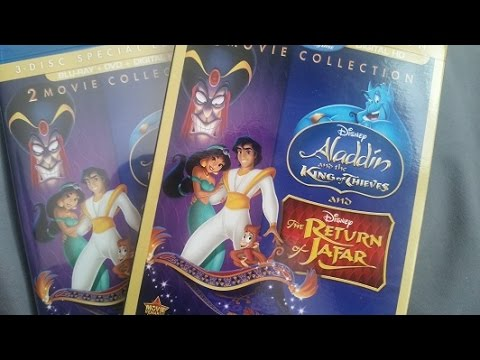 Download Aladdin Return of Jafar/King of Thieves Blu-Ray Unboxing