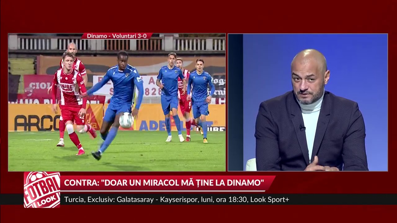 Fotbal Look. Cosmin Contra: