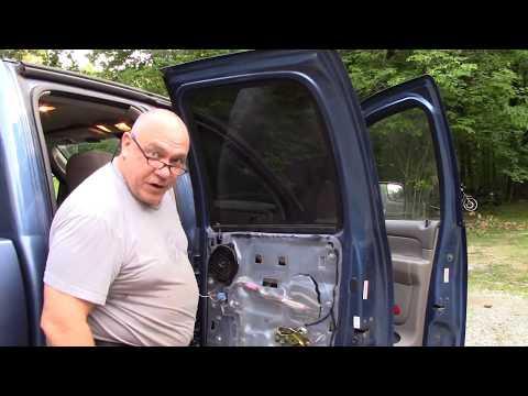 How to Repair Stuck Down Power Window on Dodge Ram 3500 2007 Truck