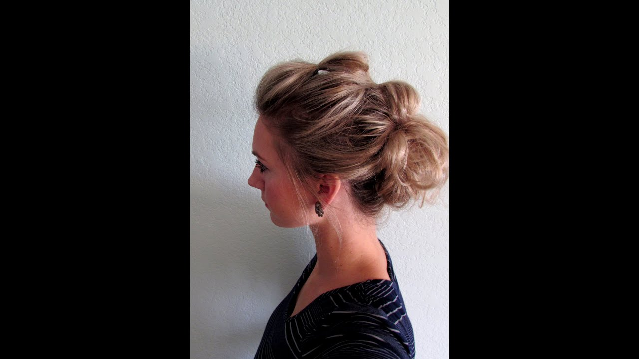 How to: Bubble Hairstyle - YouTube