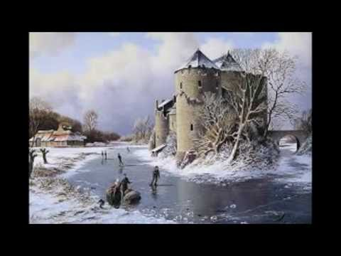 video Dutch Winter Landscape, With paintings of  Old Masters.
