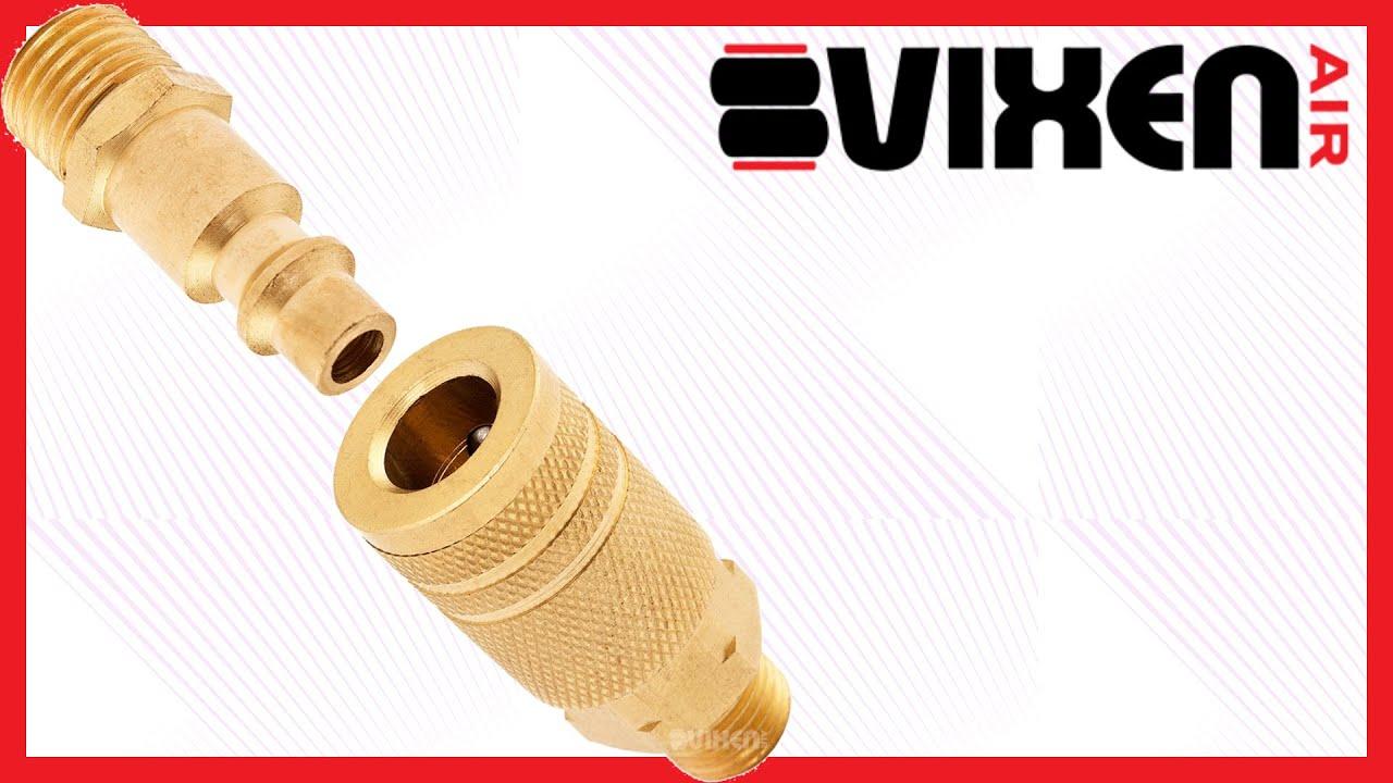 Vixen Air 1//4 NPT Male Quick Connect Coupling VXP14QPM