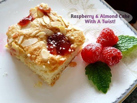 Raspberry & Almond Cake With A Twist! Fresh Raspberry Cake |