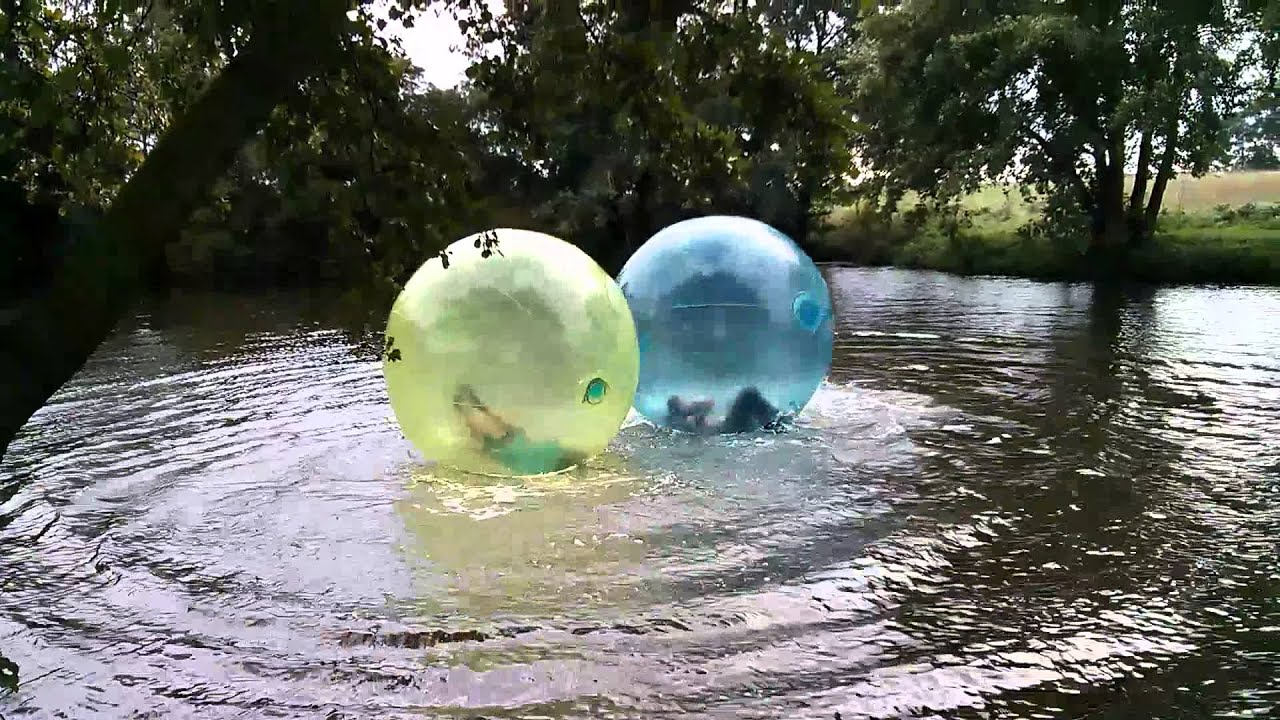 water zorbing pump it up events youtube