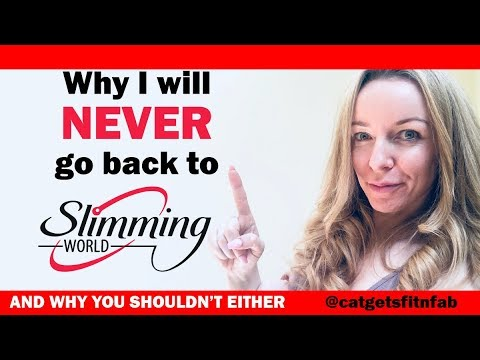Why I Won't Ever Go Back To Slimming World