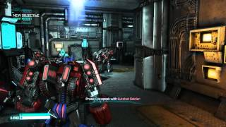 Transformers fall of Cybertron PC Gameplay 2
