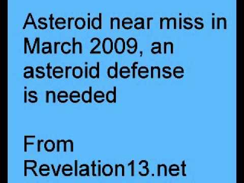 Asteroid near miss in March 2009, Asteroid defense is needed