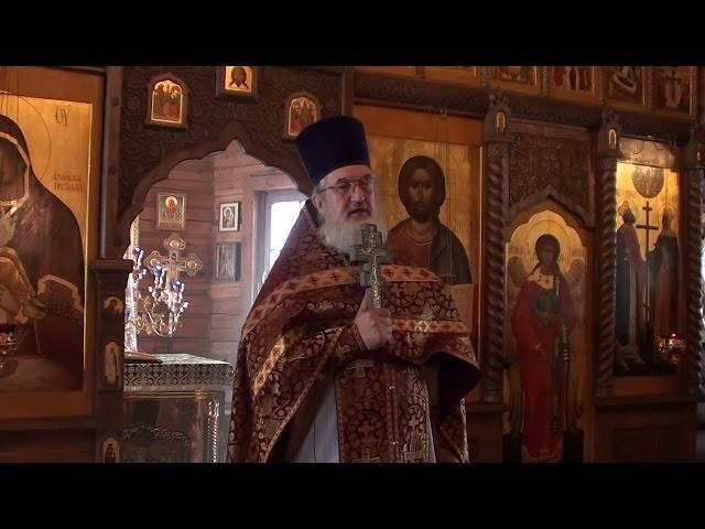 Проповедь отца Владимира в неделю Торжества Православия 21.03. 2021