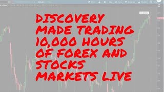 Discovery Made Trading 10,000 hours of Forex and Stocks Markets LIVE