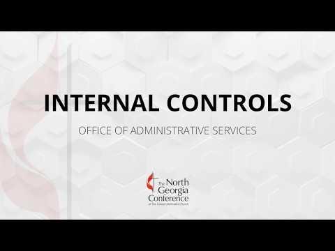 Finance Training: Local Church Internal Controls