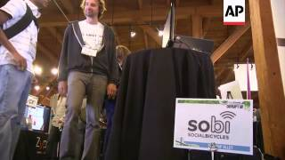 Tech Start-up Companies Showcase Their Latest Innovations