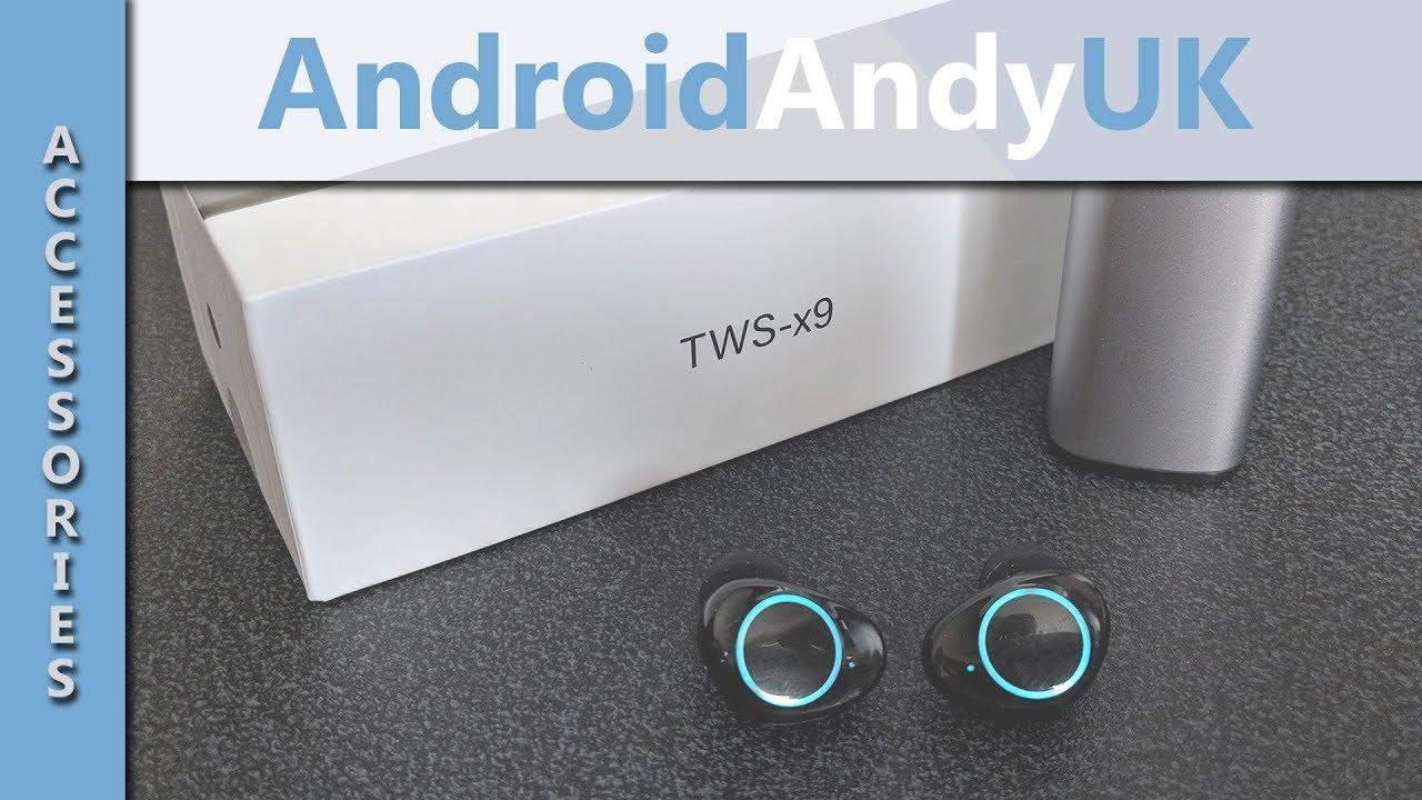 918140f410d HolyHigh TWS-x9 True Wireless Earphones - YouTube