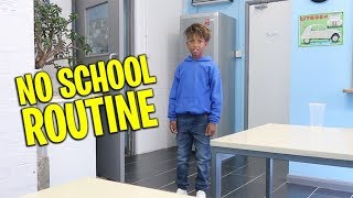 NO SCHOOL ROUTINE | MISSING SCHOOL TO FILM FOR TV