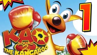 KAO The Kangaroo Round 2 (PS2, GCN, XBOX) 100% Walkthrough Part 1 -- Beavers