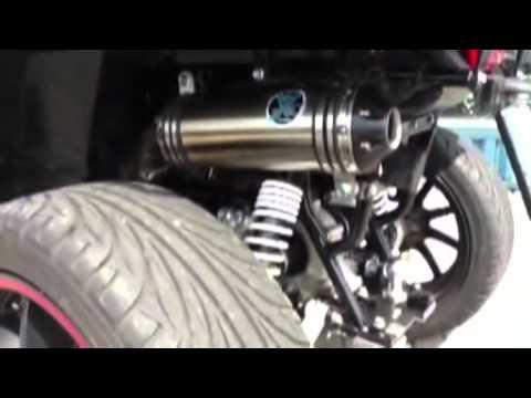 masai racing exhaust ixil 800.mp4