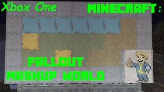 Minecraft: Xbox One -  Fallout Mashup Pack World