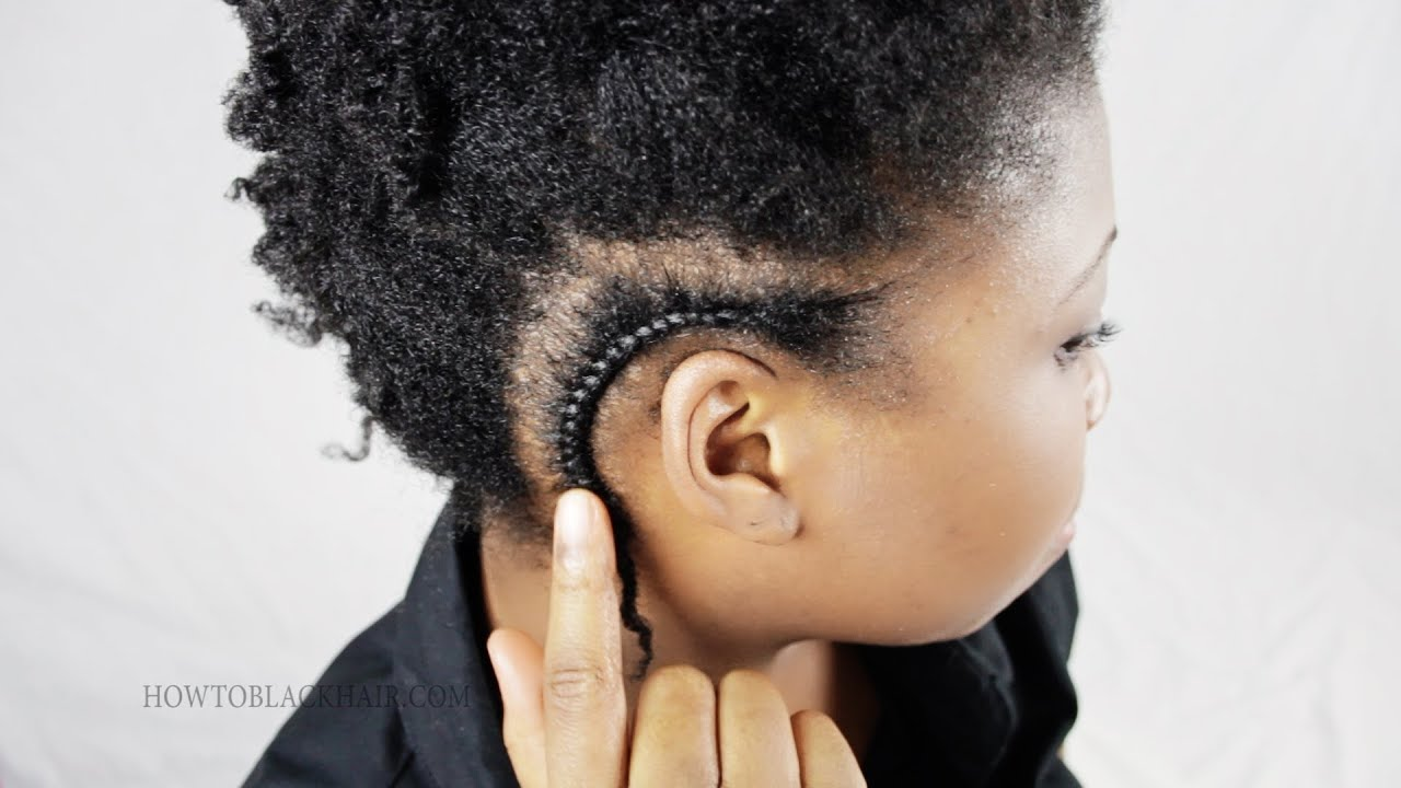 Cornrow French Braid For Black Women Hair Tips And Advice Tutorial Part 3   Youtube