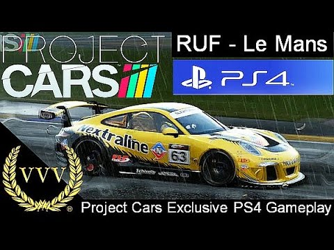 project cars exclusive ps4 gameplay ruf le mans youtube. Black Bedroom Furniture Sets. Home Design Ideas