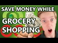 SAVE HUNDREDS ON GROCERIES (10 STEPS)  |  How to save money while grocery shopping!