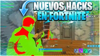 NEW HACKS IN FORTNITE CARE! (SEE BEHIND THE WALLS, BE INVISIBLE) MOD MENU IN FORTNITE