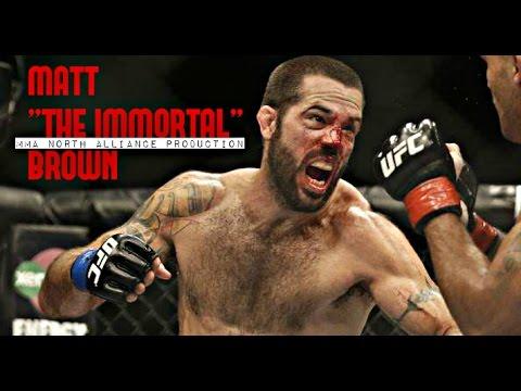 "MATT ""THE IMMORTAL"" BROWN  [NORTH MMA ALLIANCE]"