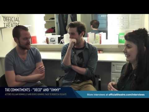 Killian Donnelly and Denis Grindel The Commitments Interview