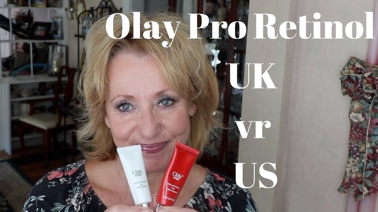 Olay Pro Retinol Eye Treatment Uk Vs Us Version Mature Beauty