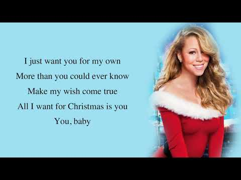 Mariah Carey - All I Want for Christmas Is You (Make My Wish Come True Edition) [Full HD] lyrics