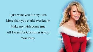 Mariah Carey - All I Want for Christmas Is You (Make My Wish Come True Edition) [Full HD] lyrics.mp3