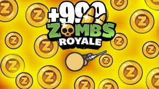 HOW TO GET 999+ Z-COINS FAST! // Zombsroyale.io
