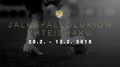 SJK TV - Jalkapallolukio