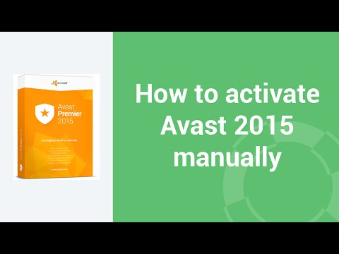 how to turn avast on