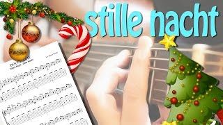 DOUCE NUIT - SILENT NIGHT - Free Tab Guitar FingerStyle