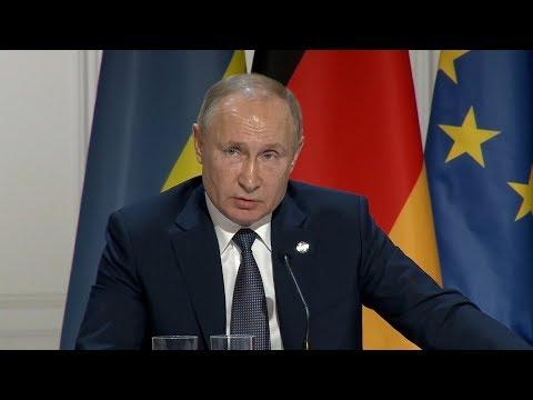 Владимир Путин об