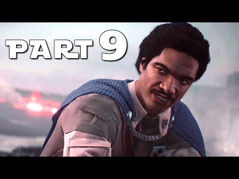 STAR WARS BATTLEFRONT 2 Walkthrough Gameplay Part 9 - Lando - Campaign Mission 9 BF2 Battlefront II