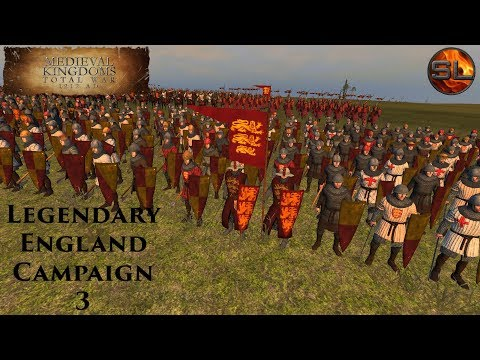 Total War: Atilla - Anno Domini 1080 - Medieval Kingdoms: Legendary England Campaign #3