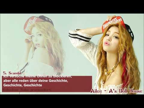 [HD] Ailee - Scandal (열애설) [German Subs]