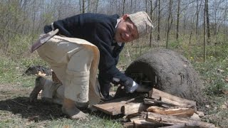 Earthen Oven in 24 hours - 18th Century How-to Series