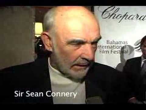 Sir Sean Connery & Daryl Hannah interview - Bahamas 2008