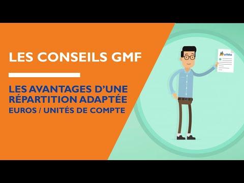 GMF – Les avantages d'une répartition adaptée euros / Unités de Compte