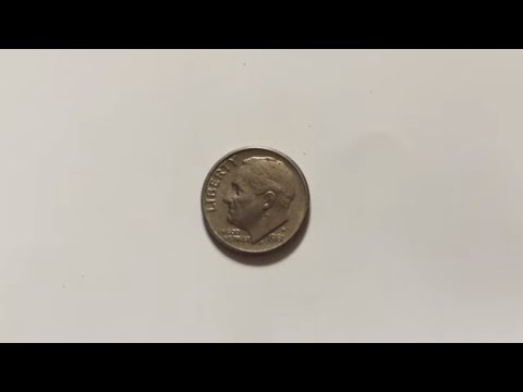 One Dime United States of America Liberty 1981 Coin